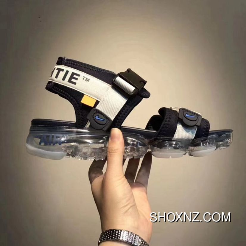 brand new 5d453 2ab45 Men Off White X Nike Air Vapormax Sandals Aaaa 28450 New Style