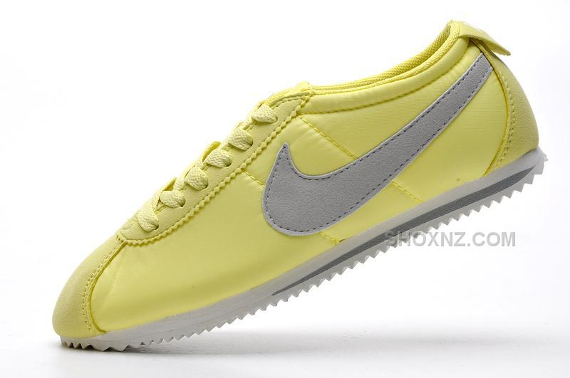 lowest price a26d8 3a857 Women Nike Cortez 2 Oxford Cloth Shoes Green Grey