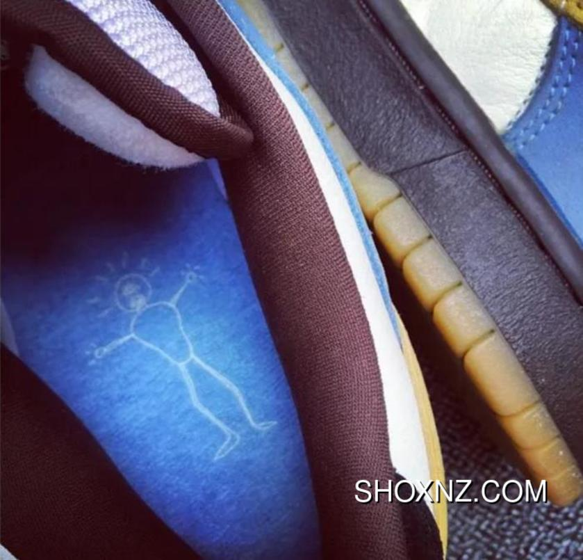 best sneakers 035bf 99cf2 NIKE DUNK SB LOW PRO SB HOMER Simpson Silver Box Of 304292-173 Top Deals
