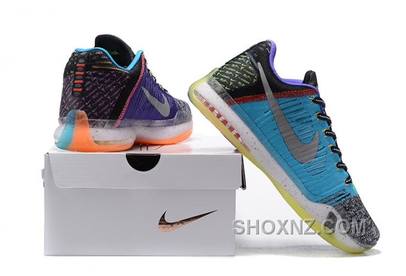 "2016 Nike Kobe 10 Elite Low ""What The"" For Sale Cheap To Buy PPkHZB"