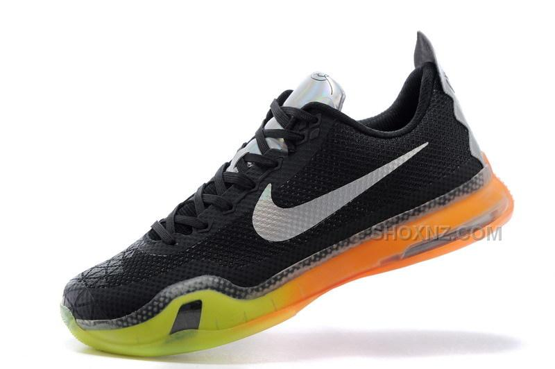 "online store 661f8 a9948 Cheap Nike Kobe 10 ""All-Star"" Black Multi-Color-Volt"