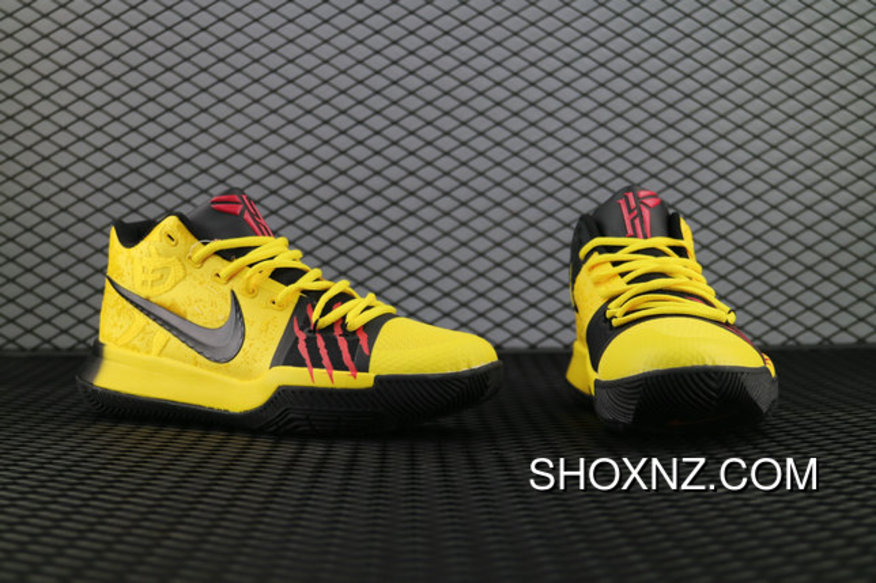 premium selection 86fb5 d6dd2 Nike Kyrie3 Bruce Lee Aj1692 700 Kyrie Irving Basketball Shoes Best