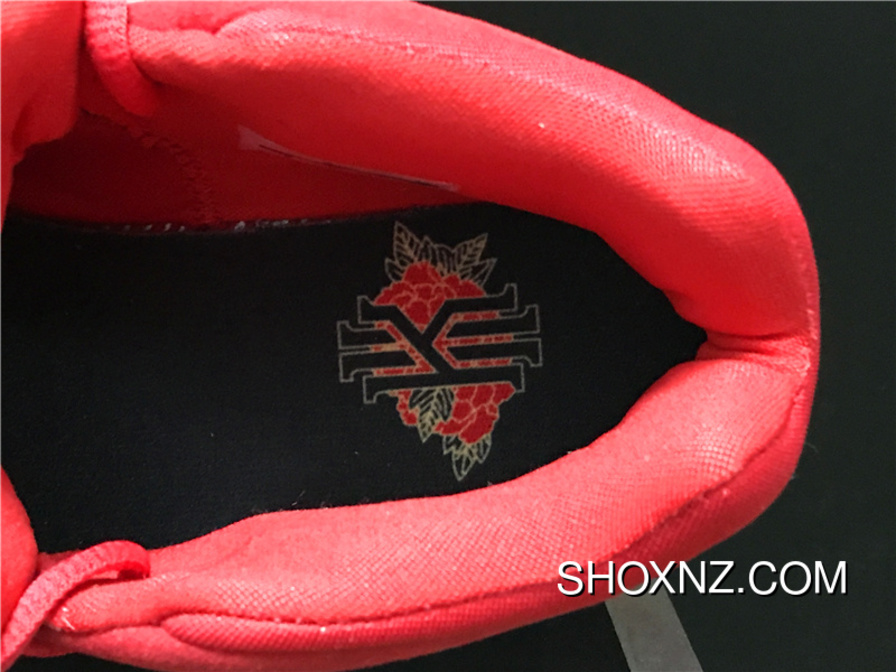 17885ed85f498f Nike Kyrie 4 Owen 4 943807-600 Chinese Red Embroidery Combat Also Shoes Men  Shoes Best