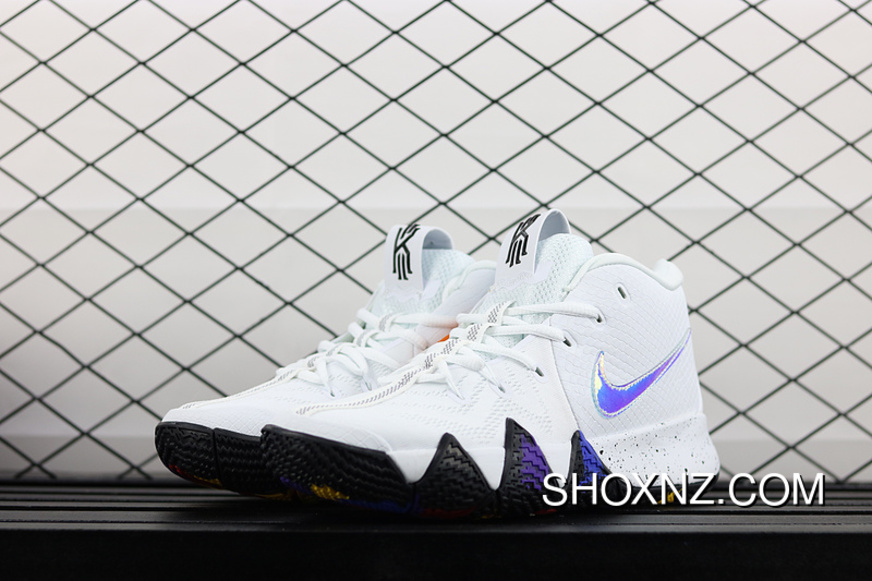 premium selection d6ed3 a1373 Nike Kyrie 4 Owen 4 NCAA March Madness Multi Color White 943807-104 Super  Deals