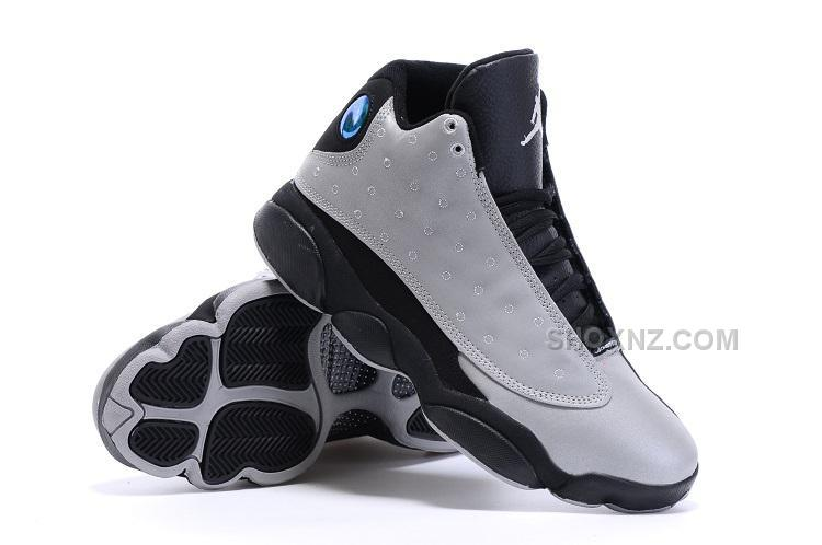2016 Nike Air Jordan 13 Doernbecher Mens Sneakers Silver Black Basketball Shoes Online Cheap Sale