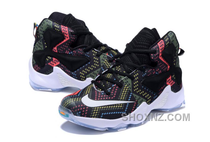 Nike LeBron 13 Grade School Shoes Black History Month Best PNweG