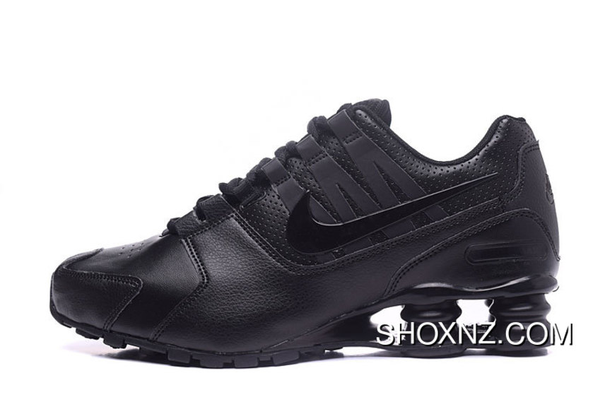 new styles c9098 0548a NIKE Shox Avenue 803 PU 40-46 All Black Men For Sale