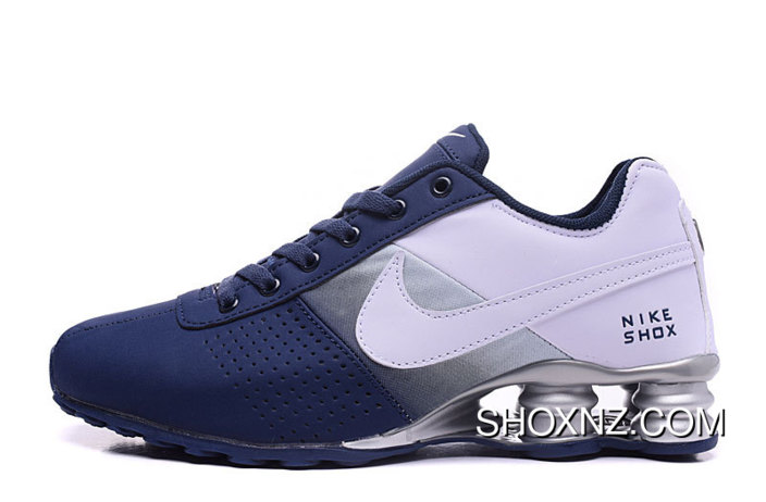 official photos 08aa3 7dae7 NIKE SHOX DELIVER 809 NAVY BLUE WHITE