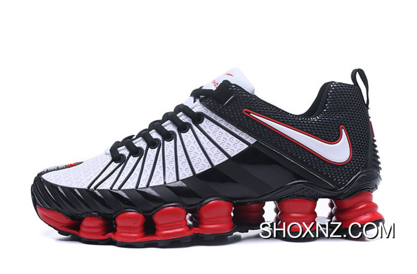 on sale 74a74 5f4e8 Nike Shox TLX 0016 White Red Black Best, Price: $88.87 - Shox NZ ...