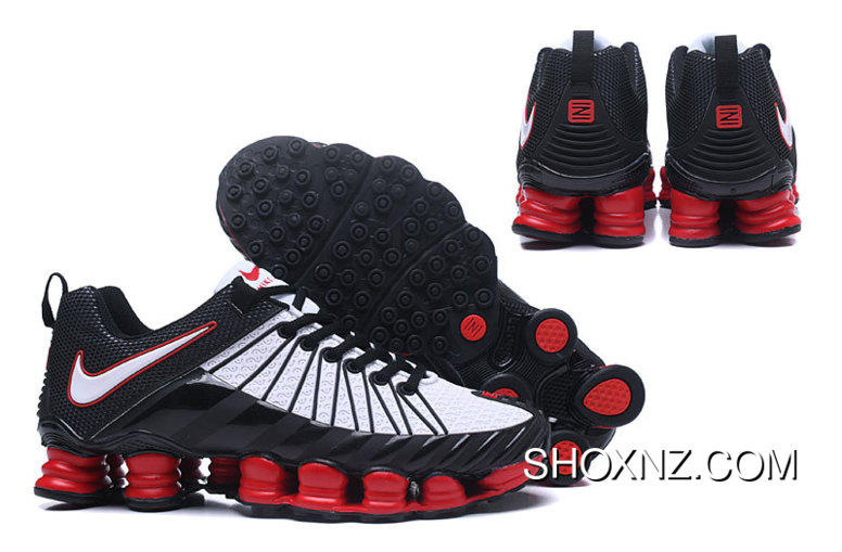 best website 430dc 36674 Nike Shox TLX 0016 White Red Black Best