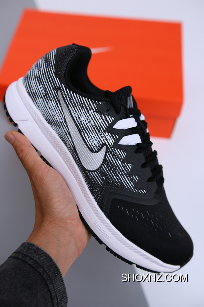 67a33ac15e3e NIKE ZOOM SPAN2 Generation Of Black With WHite 908990-001 Women Shoes And  Men Shoes Free Shipping