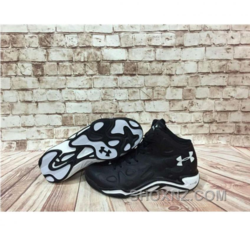 Under Armour Anatomix Spawn 2 Black White Sneaker Top Deals 28ZnA5