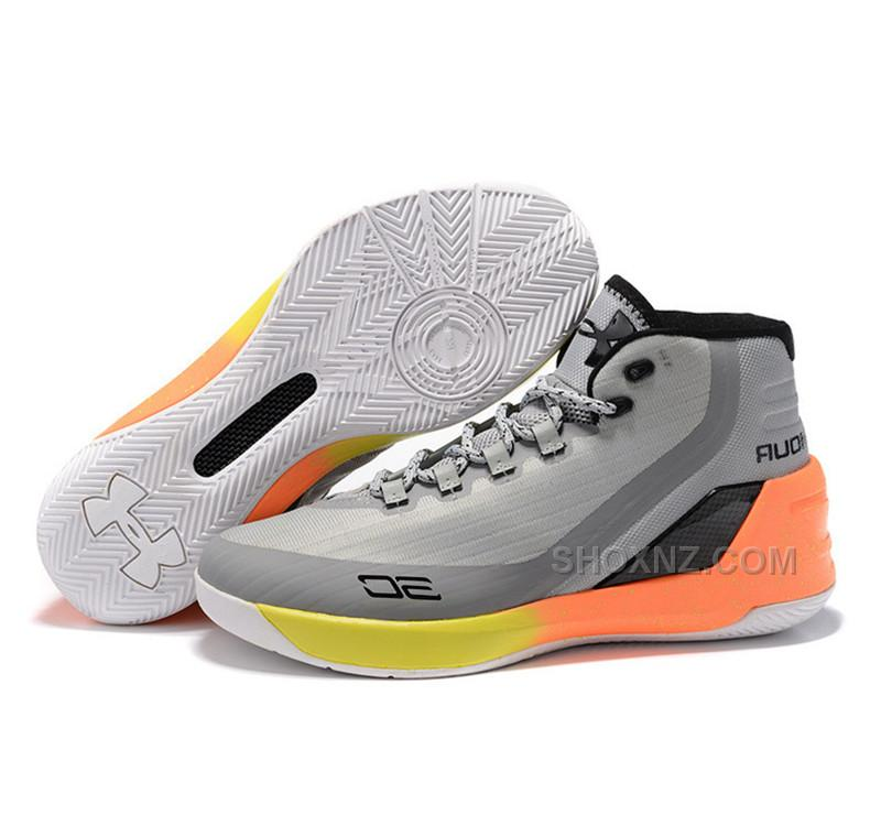Under Armour Stephen Curry 3 Shoes grey white adcfd3f6e247