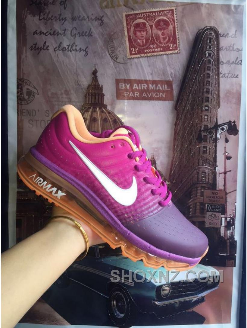 NIKE AIR MAX 2017 Bright Grape White-Fire Pink-Pink Blast 849560-502 ... e38a1f23e