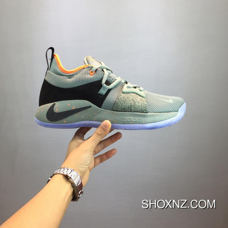 release date 11a30 97de2 Paul George NIKE PG 2 Cure Shoes AO1757-300 New Release Green