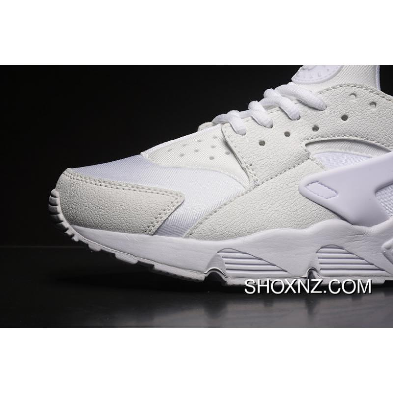 uk availability ee692 4166c High Quality Nike Air Huarache Run Type 1 Material Perfect Shoes Acme Foot  Feeling SKU 634835-108 Women Shoes And Men Shoes All White Size A Yard Best