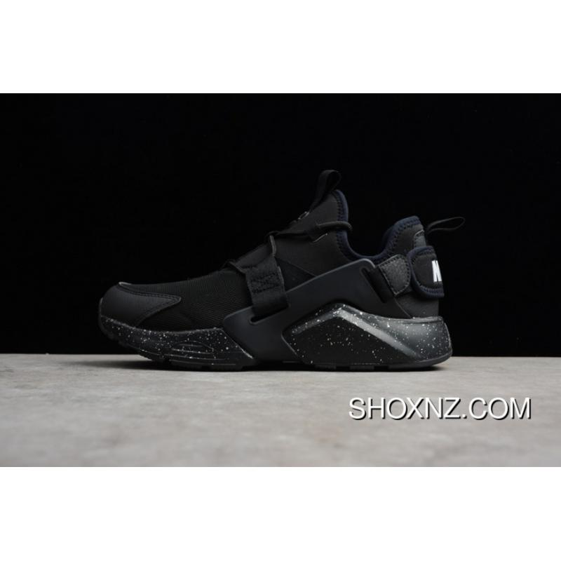 finest selection f9f64 16f76 AH6804-009 Nike Huarache 5 AIR CITY LOW Men Running Shoes Outlet