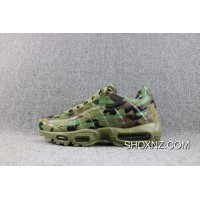 7ccfc5ab04 New Year Deals Nike Air Max 95 TT Japan Retro Air Zoom Camo Green Japan  Limited