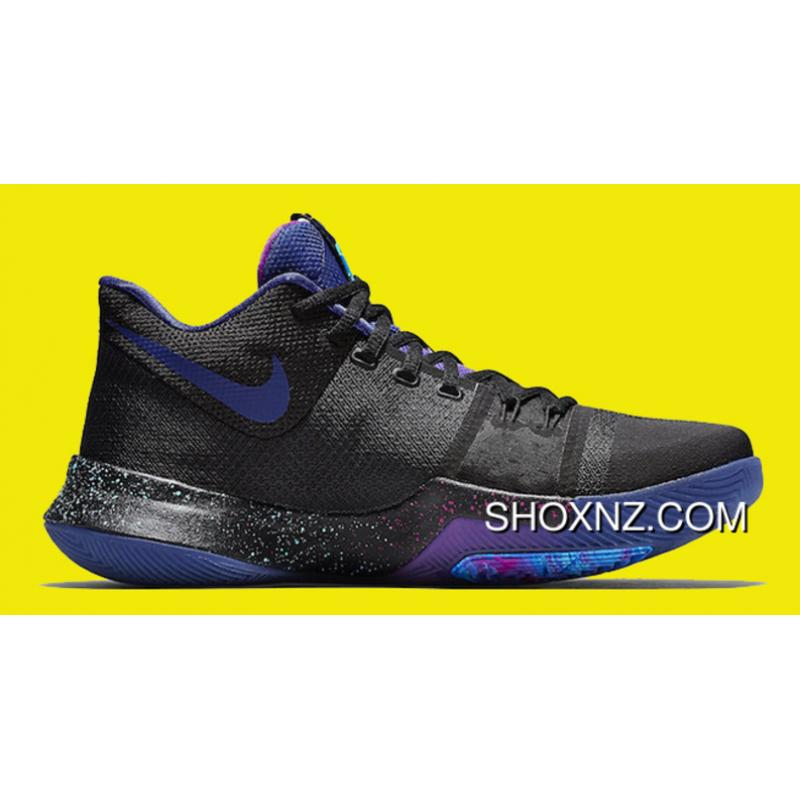 8d247b72d250 USD  88.89  266.66. Nike Kyrie 3  Flip The Switch  Black Deep Royal Blue-Photo  ...