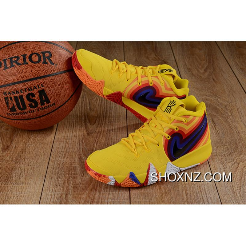 """bf7f239369ee USD  88.64  230.45. Nike Kyrie 4 """"Bruce Lee"""" Black Yellow ..."""
