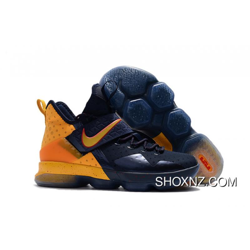 best sneakers 31be3 7a11f Nike LeBron 14(Xiv) Navy Yellow Red Top Deals