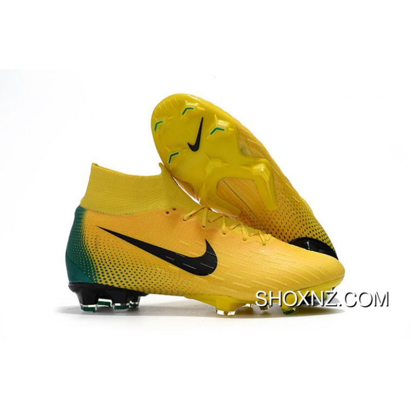 new arrival 9a978 b505a Arrived The Nike Mercurial 2.0 World Cup Colorways Knitting Flyknit 360  Technology Waterproof FG Nail Soccer Shoes Mercurial Superfly VI 360 Elite  FG ...