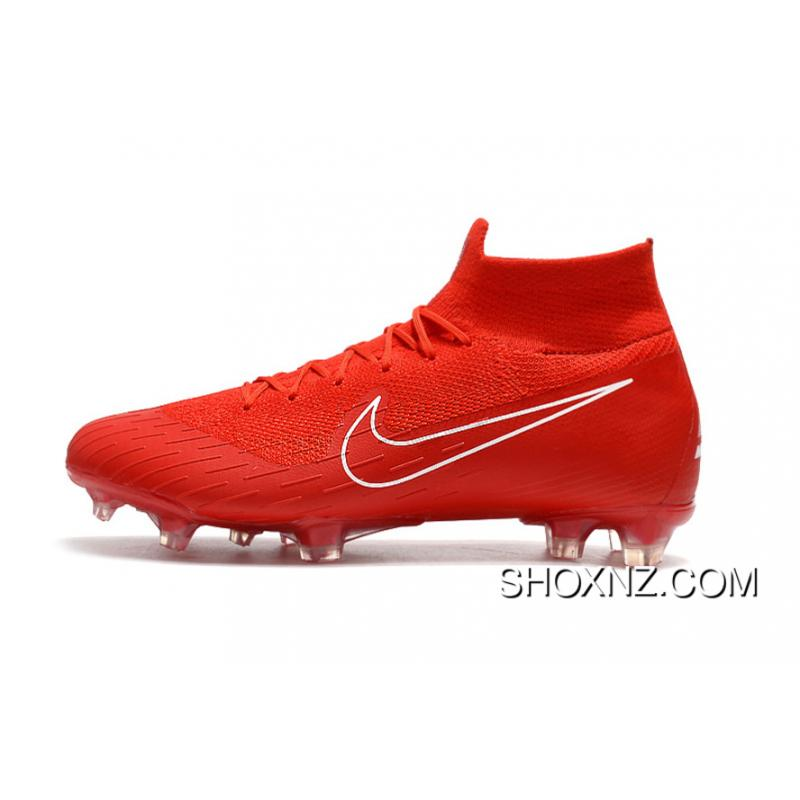 294a23b32d0d6 USD  88.16  273.29. Arrived The Nike Mercurial 2.0 Red White Knitting Flyknit  360 Technology Waterproof FG ...