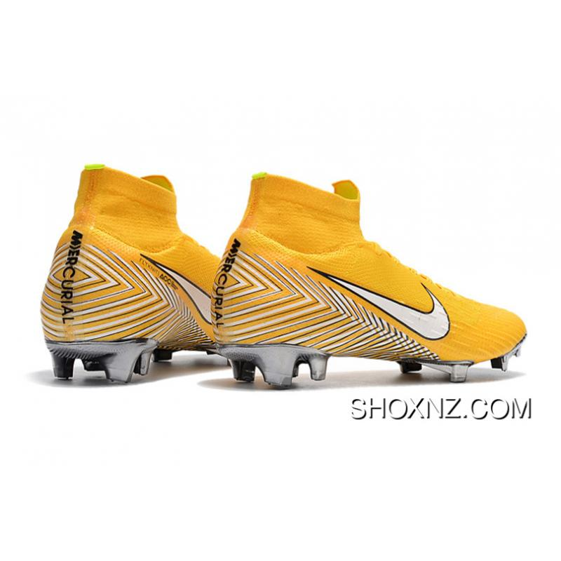 quality design 9e230 99b3e ... Nike Mercurial Within Ten 2.0 Omar Knitting Flyknit 360 Technology  Waterproof FG Nail Soccer Shoes Superfly ...