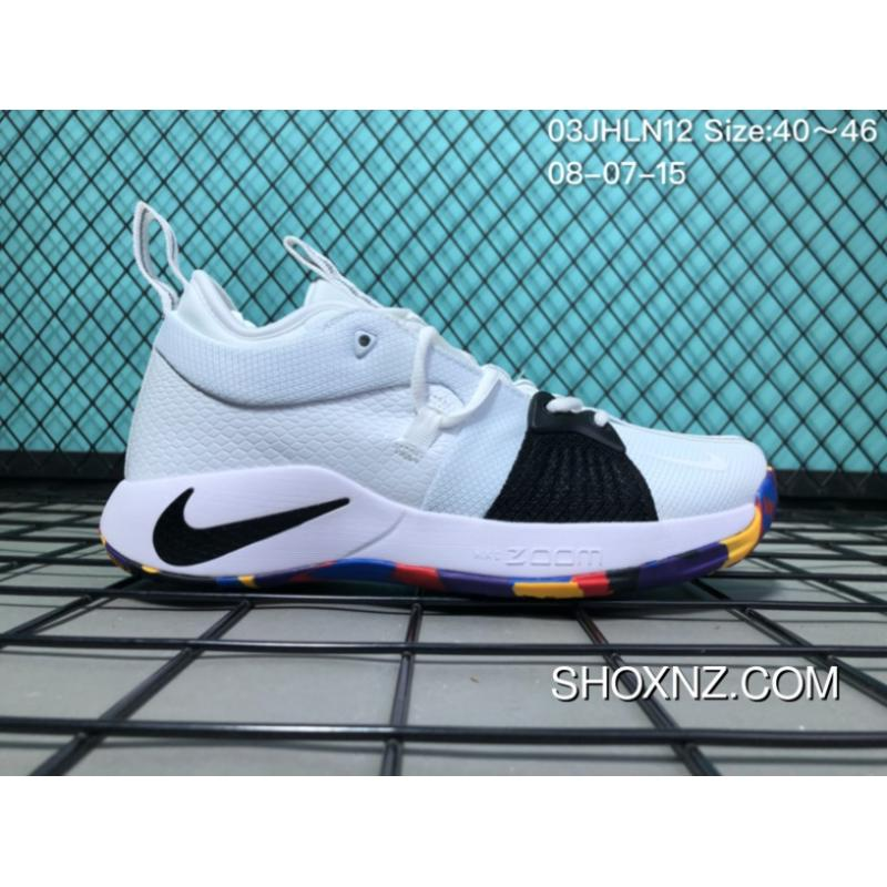 competitive price 56edd e422d Online 130 PG2 NIKE PG 2 Paul 2.0 WHITE BLACK