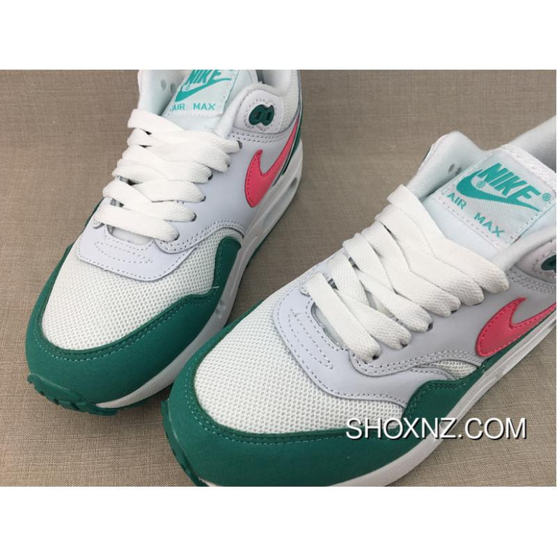 new concept 444a7 80226 ... Nike Air Max 1 Green Watermelon Pink Women Zoom Running Sport Shoes Size  AH8145 807602- ...