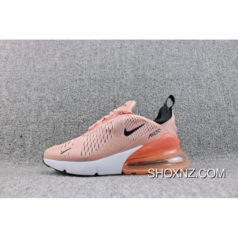 e93ee86139ea7 ... New Year Deals Nike Air Max 270 New Colorways Overseas Heel Half-palm  As Mesh ...