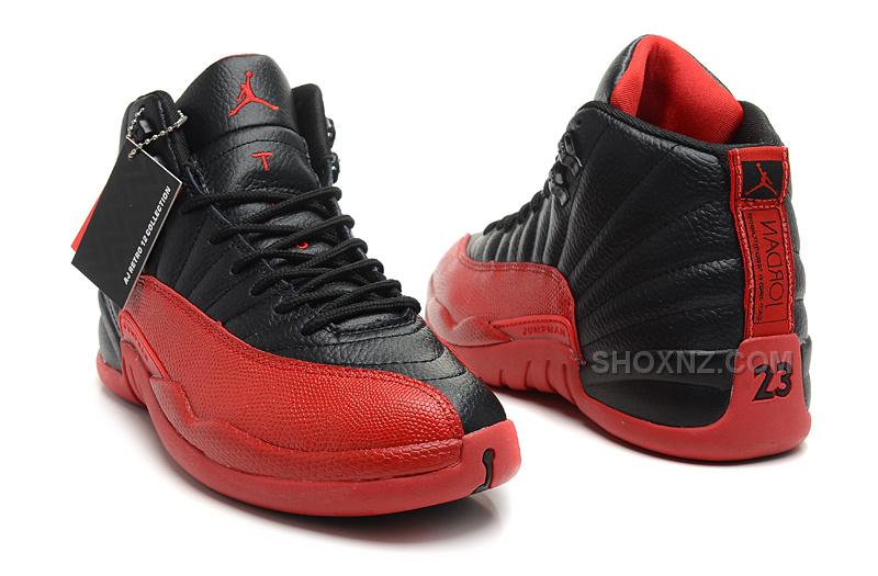 "new concept 37989 9cc16 Air Jordan 12 Retro ""Flu Game"" Black/Varsity Red For Sale Online"