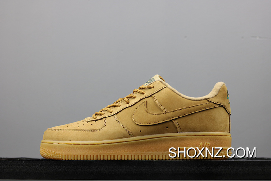 low priced 2ba2e 62b77 Mid-december Nike Air Force1 Low AF1 Wheat One Sneakers AA4061-200 FULL  GRAIN
