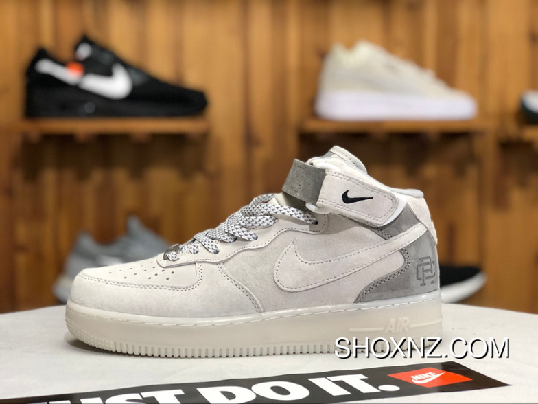 wholesale dealer a8f46 920ce Nike Air Force One AF1 X Reigning Champ 807618-300 Women Men New Year