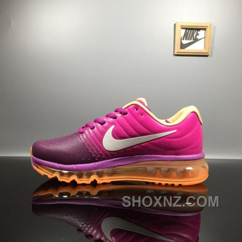 wholesale dealer fb15b cc02a NIKE AIR MAX 2017 Bright GrapeWhite-Fire Pink-Pink Blast 849560-