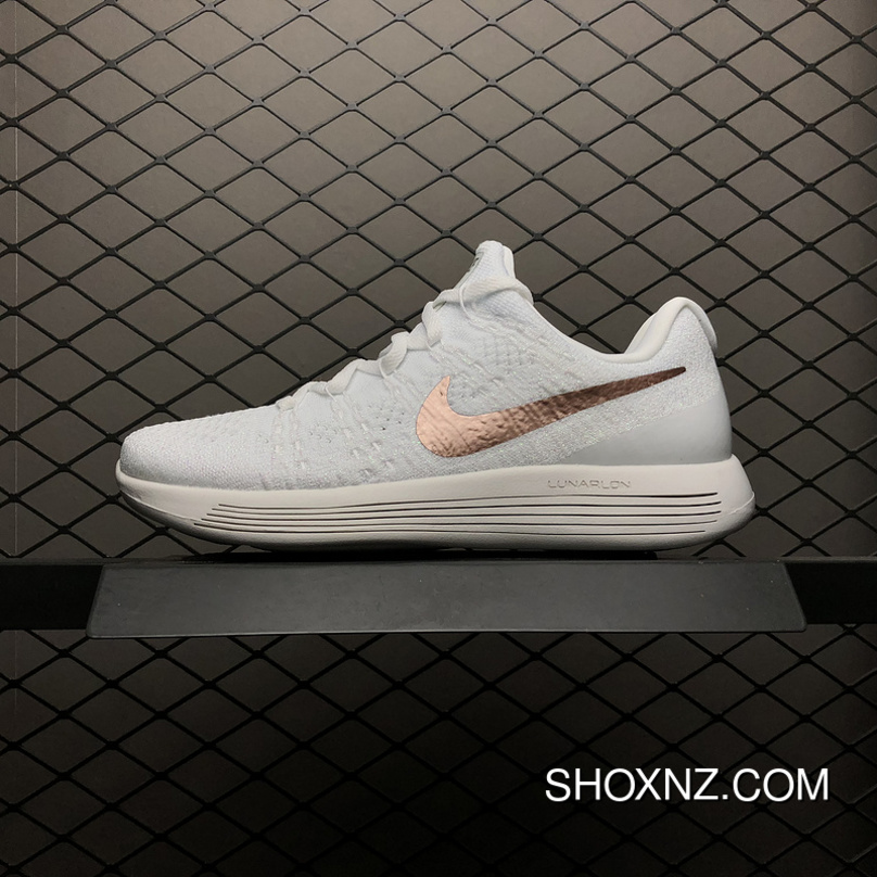 Nike LunarEpic Low Flyknit 2 Mesh Breathable Cushioning Running Shoes  904743-100 Women Shoes 11 76cb1c239